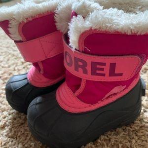Sorel toddler snow boots